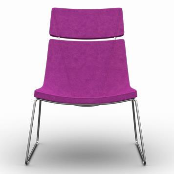 Office Furniture Now Seating Gresham | Adore Low Skid Frame
