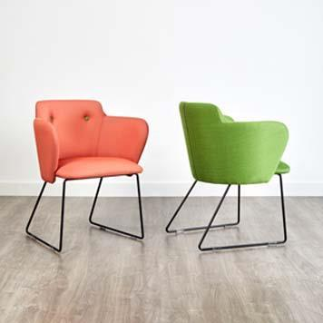Office Furniture Now Seating Gresham | Betsy Skid Frame Chair