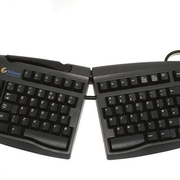 Office Furniture Now - ESAM16-GOLDTOUCH-ERGONOMIC-KEYBOARD - Click to enlarge