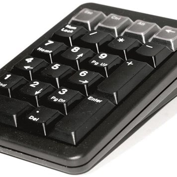 Office Furniture Now - ESAM21-CHERRY-KEYPAD - Click to enlarge