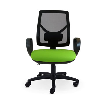 Office Furniture Now Seating MDK | Contract Mesh Back with Lumbar Support Chair